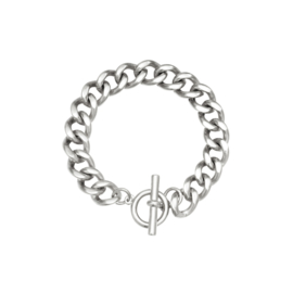 ARMBAND CHAIN IVY   ZILVER