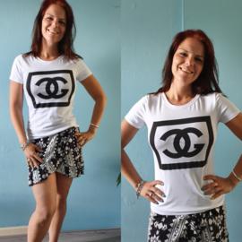 T-shirt C | Wit