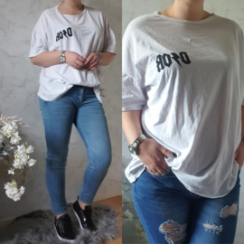 OVERSIZED DIOR T-SHIRT | WIT