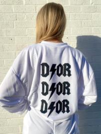 D!OR HOODIE | WIT