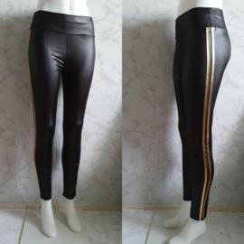 Leatherlook legging | Gold