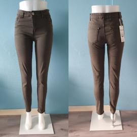 Khaki jeans | High waist