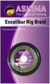 Ashima Excalibur Rig Braid green 25 lbs 20m
