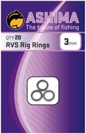 Ashima RVS Rig Rings 3mm