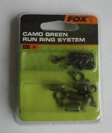 Fox Camo Green Run Ring system
