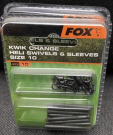 Kwik Change Heli Swivels & Sleeves