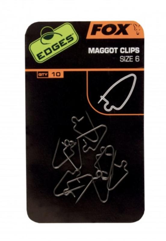 Fox Edges maggot clip size 6