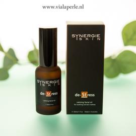 de-Stress, om de geïrriteerde huid te kalmeren, te beschermen en te hydrateren.