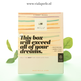 This box will exceed all of your dreams, een box om jezelf te verwennen.