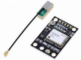 GPS Module uBlox GY-NEO6MV2 met antenne voor Arduino