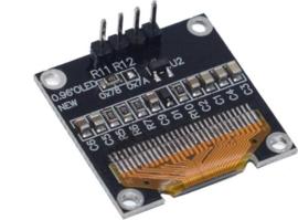 Mini OLED display geel 0.96 inch 128x64 I2C