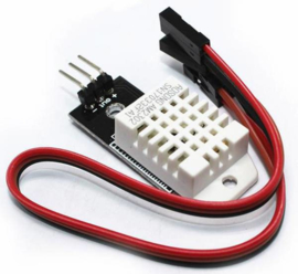 Temperatuur- en luchtvochtigheidssensor in één | DHT22 module voor breadboard