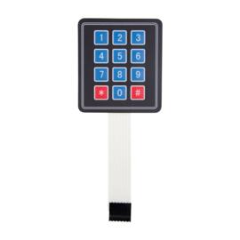 Membraan 3x4 Matrix keypad switch