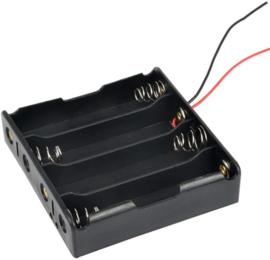 4x 18650 batterijhouder
