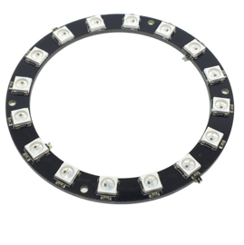 16-bit RGB LEDs WS2812b cirkel rond (Neopixel)