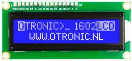 1602 LCD  blauw backlight 5V