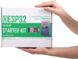 ESP32 Starter Kit | 235 delig | inclusief  boek van Luc Volders | NL | 365 pagina's