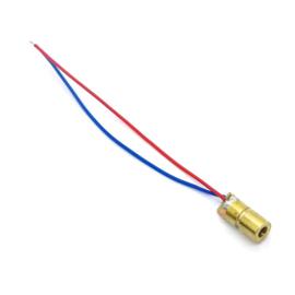Laser diode 5v rode laser 650nm 5mW koperen kop