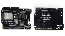 WeMos D1 R32 ESP32 4Mb Development Board WiFi Bluetooth Dual Core Arduino Uno R3 formaat