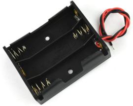 3x 18650 batterijhouder