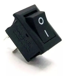 Mini wipschakelaar AAN/UIT KCD11 250V 3A