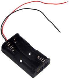 2x AAA batterijhouder