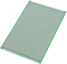 Experimenteer Prototyping Printplaat 12x18 groen