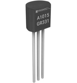 PNP Transistor A1015 GR331 50V 150mA 80MHz 400mW TO-92
