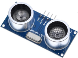 HC-SR04 Ultrasonische afstandssensor