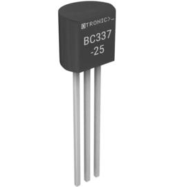 NPN Transistor BC337-25 45V 800mA 100MHz 625mW TO-92