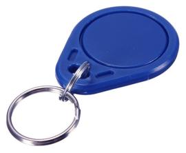RFID Tag sleutelhanger | 13,56Mhz | 1K S50 | Mifare Classic | blauw