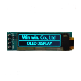 Mini OLED display blauw 0.91 inch 128x32 I2C