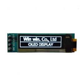 Mini OLED display wit 0.91 inch 128x32 I2C