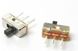 Schuifschakelaar SS12D00G2 3-pins