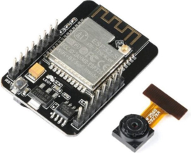 ESP32-CAM development board met Camera, WiFi en Bluetooth