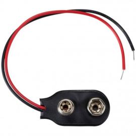 9V batterij clip aansluiting