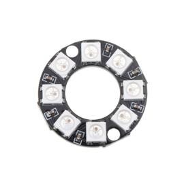 8-bit RGB LEDs WS2812b cirkel rond (Neopixel)