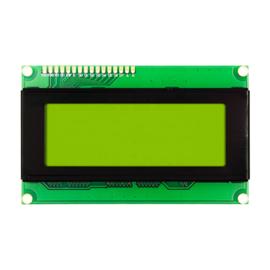 2004 LCD 5V groen/geel backlight 20x4
