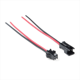 2 pins pigtail JST-SM connector