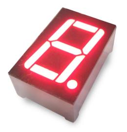 7 segment LED display Rood 0.56 inch