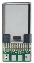 USB-C Male Breakout board