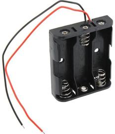 3x AA batterijhouder