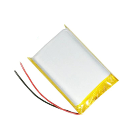 3.7V 2000mAh Oplaadbare LIPO (Lithium Polyemer) platte batterij | 103450