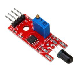 Vlamsensor module infrarood voor Arduino | ESP32 | ESP8266