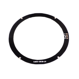 24-bit RGB LEDs WS2812b cirkel rond (Neopixel)