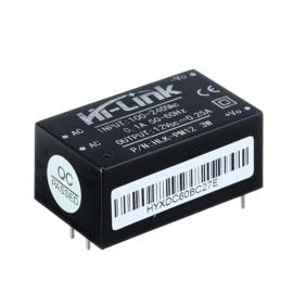 220VAC naar 12VDC 0,25A converter module HLK-PM12