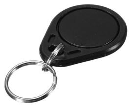 RFID Tag sleutelhanger | 13,56Mhz | 1K S50 | Mifare Classic | zwart
