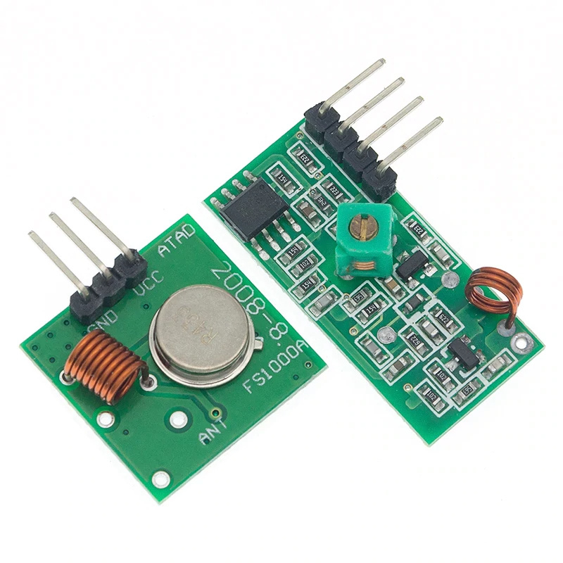 315Mhz RF zender en ontvanger