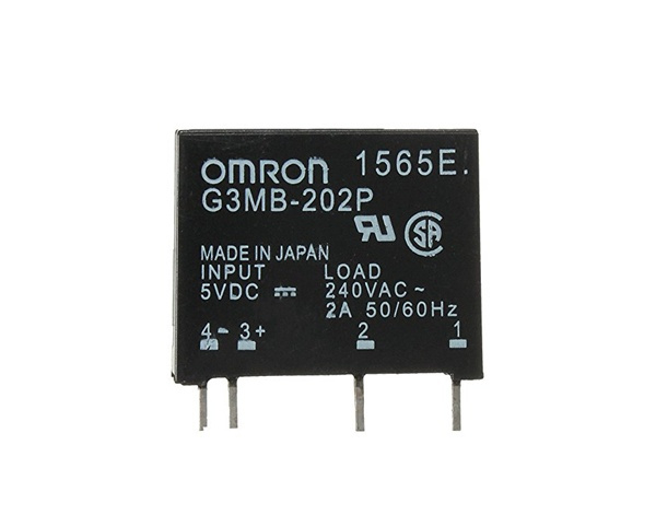 Solid State Relais 5V (OMRON G3MB-202P)