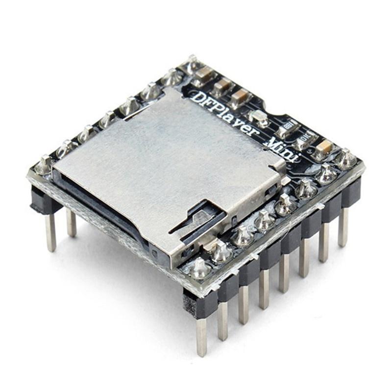 YX5200 DFPlayer Mini MP3 module met MicroSD kaartslot